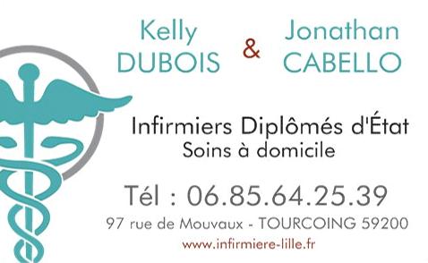 INFIRMIERS TOURCOING & ROUBAIX DIPLÔMÉS D'ÉTAT - SOINS À DOMICILE
